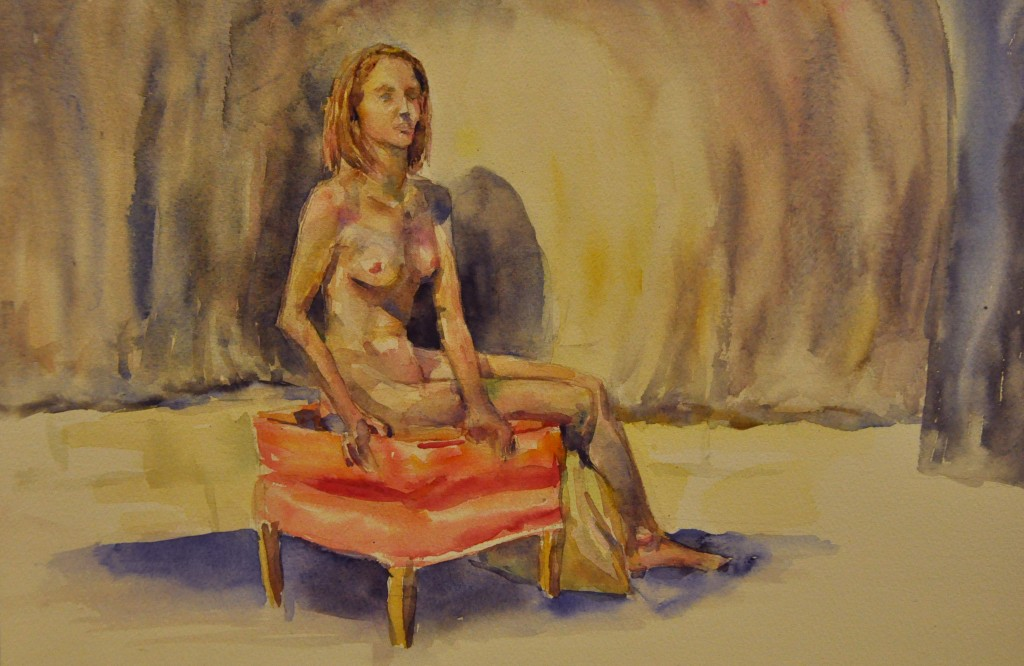Life Drawing Long Pose 19-09-14 Poloyna