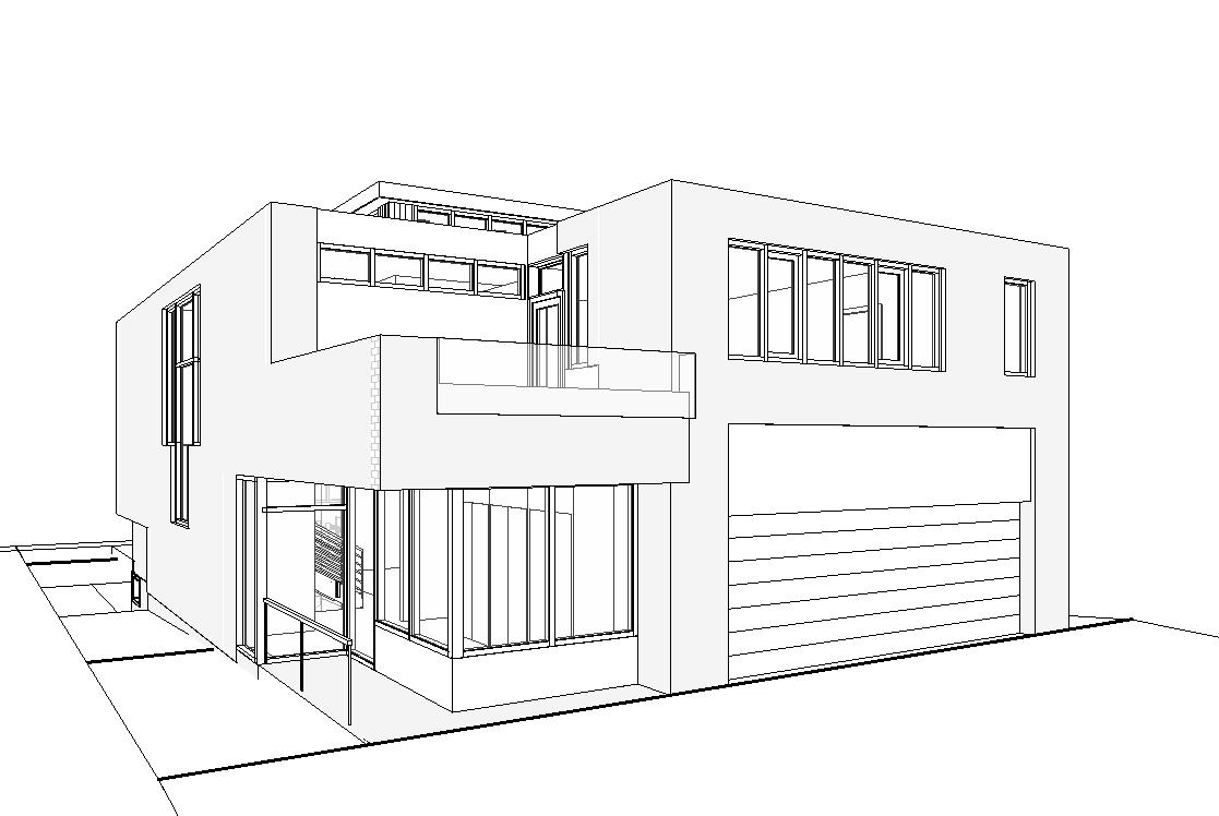 Maison Spring Garden 171 Lowell Lo Design Inc Architect
