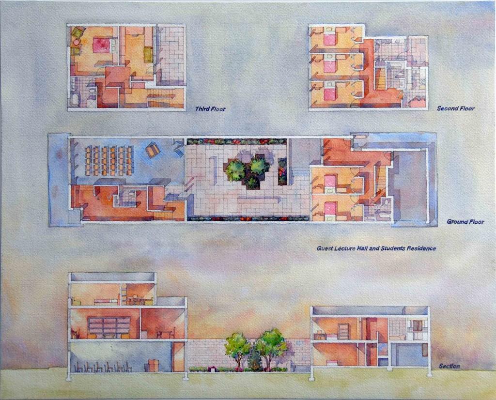 Teaching residence