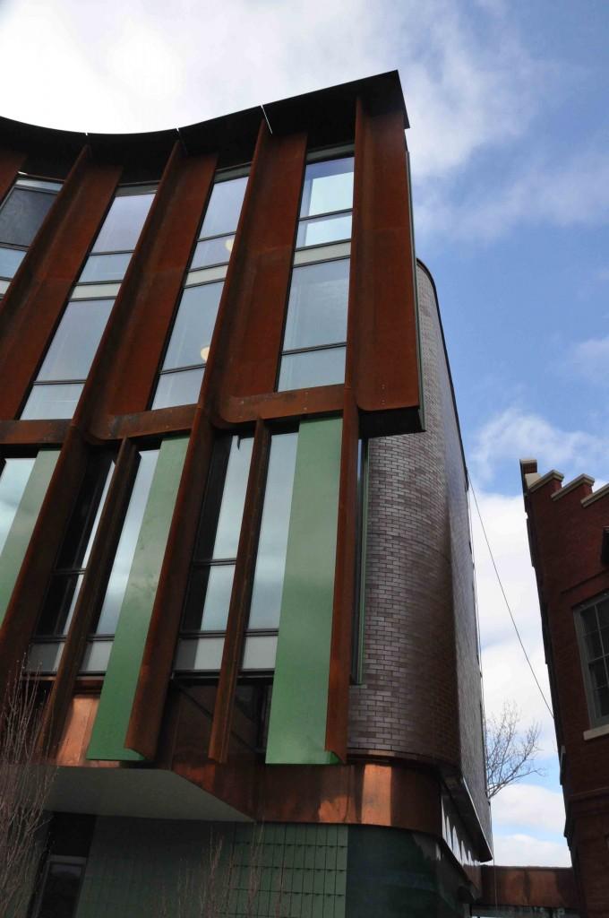 flying facade