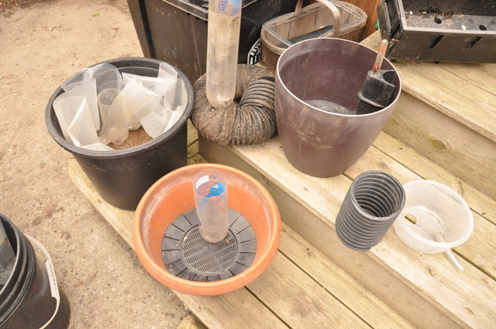 Various Sub-irrigated Planter Pots (SIP's)
