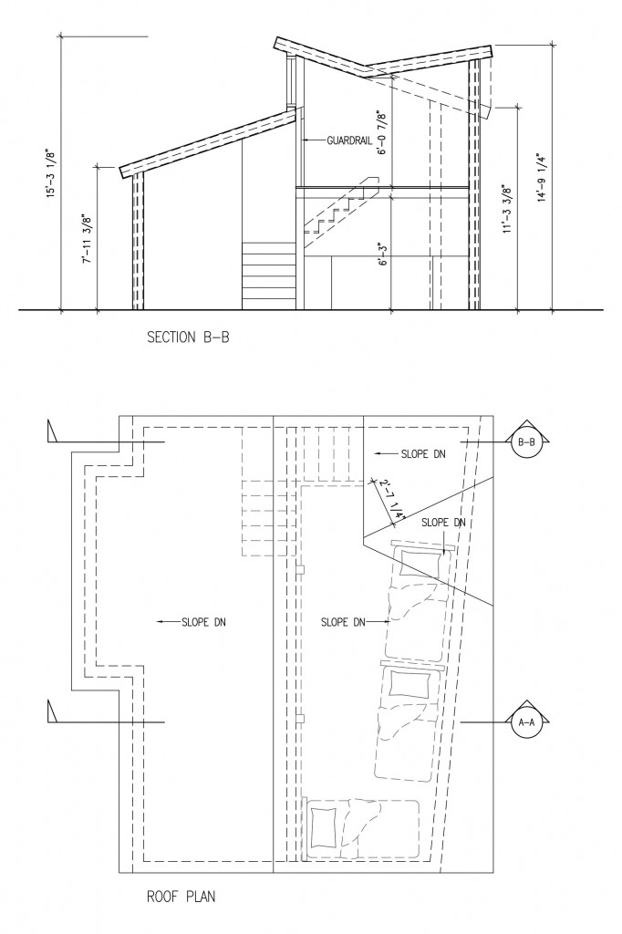 Section-and-Plan-at-Stairs